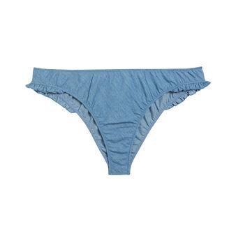 Belliz denim tanga blue.