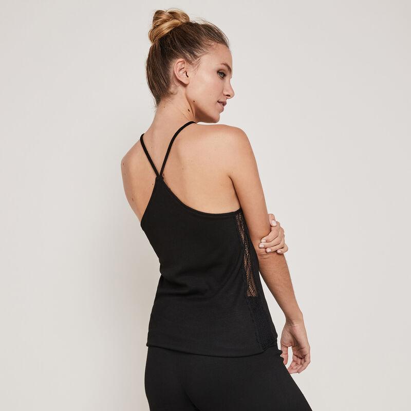 Newtamiz jersey top with thin straps;