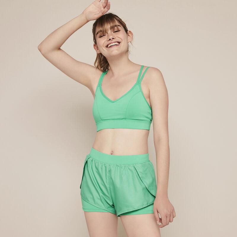 Nolimitiz plain jersey sport shorts;