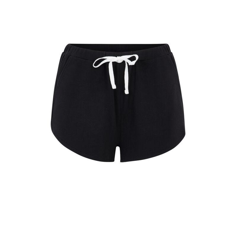 Schwarze Shorts Bluvetiz;