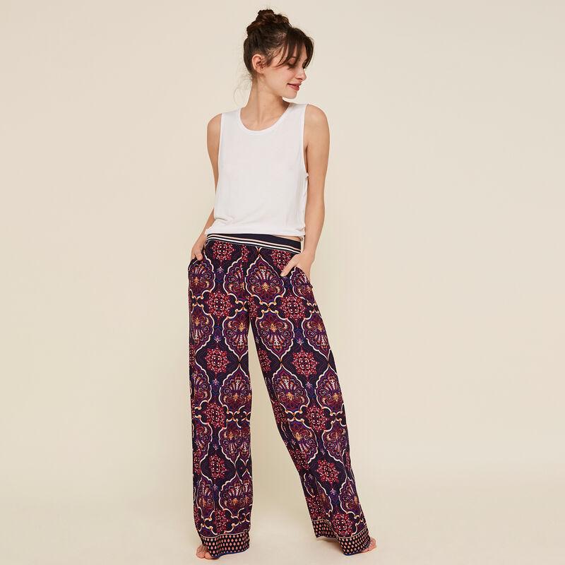 Granatowe spodnie acumuliz;