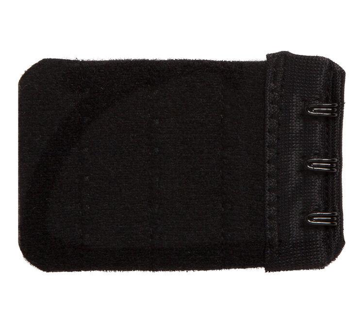 Extendiz black 3-hook bra extender;
