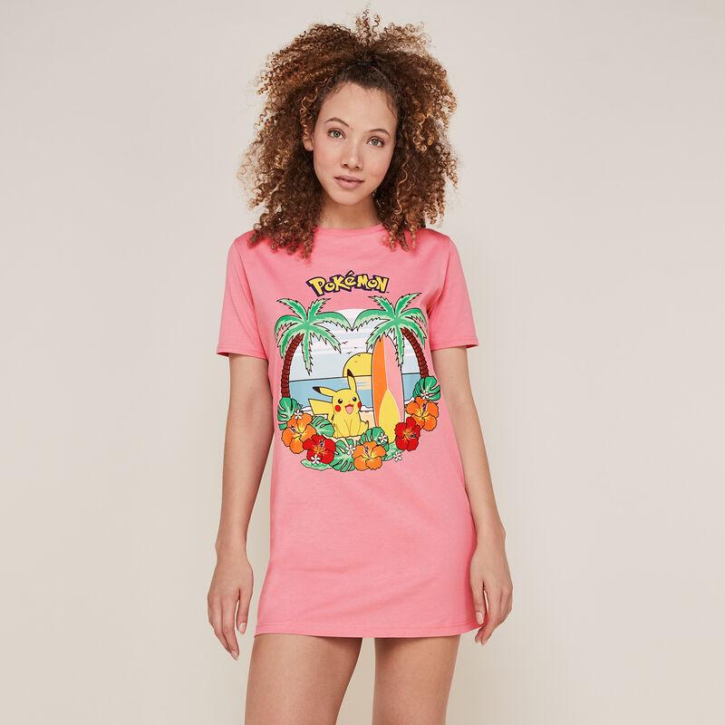 Pikachu tunic - pink;