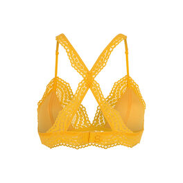 Triamiz yellow triangle bra yellow.