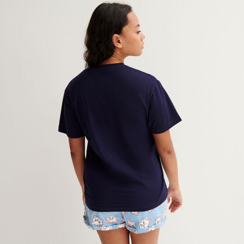 The Aristocats Marie t-shirt - navy;
