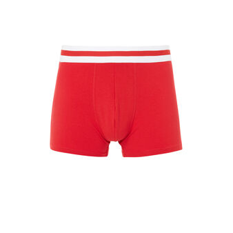 Gangastiz red boxer shorts red.