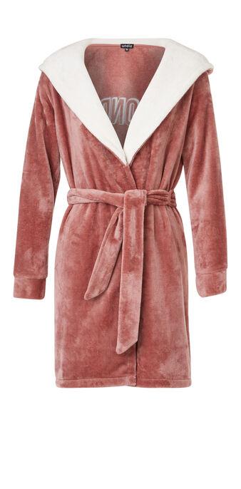 Peignoir rose poudré soblondiz pink.