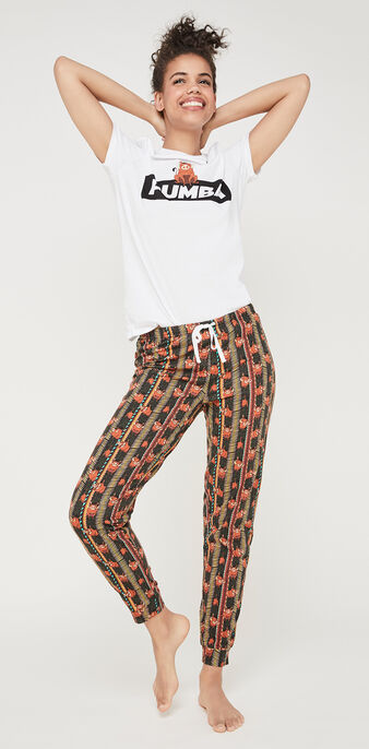 Etnikiz khaki lounge pants green.
