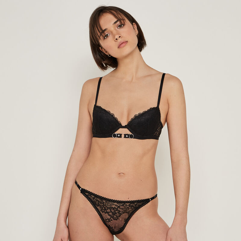 Fluomiz lace push-up bra;