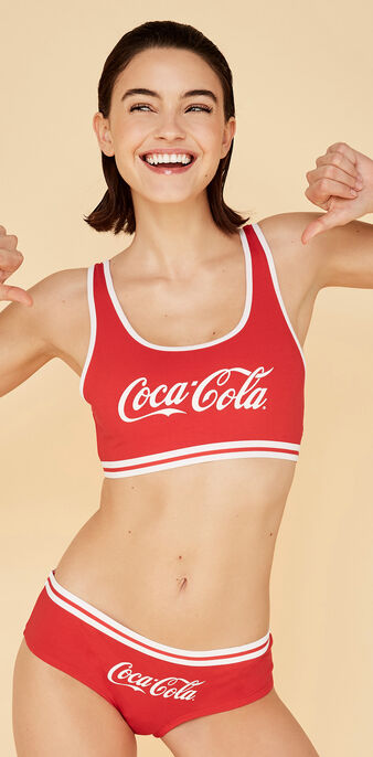 Bustier cocacoliz rot red.