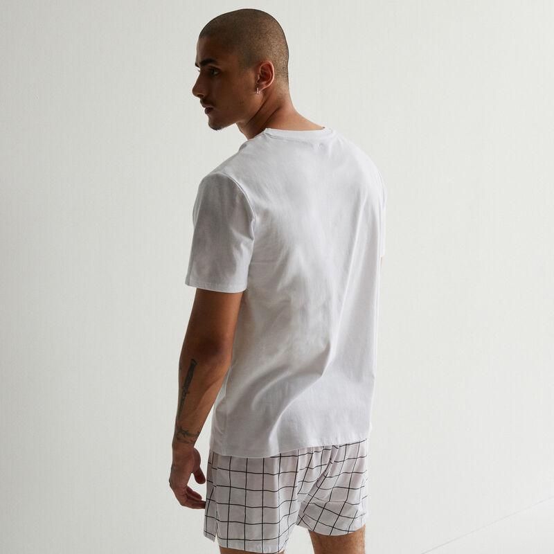 футболка с принтом «Миньоны» - белый;