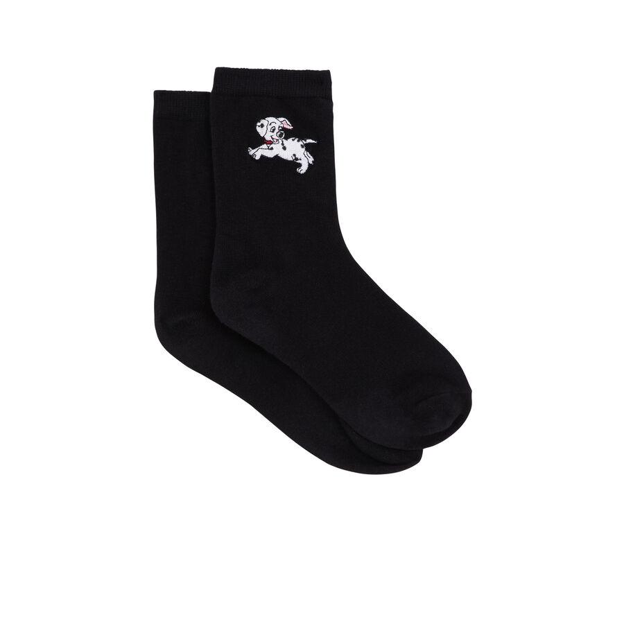 Dalmasiz black socks;