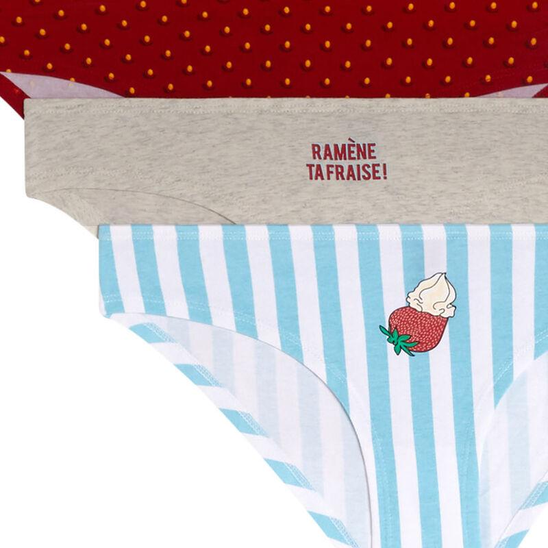 Ramentafriz pack of cotton knickers;