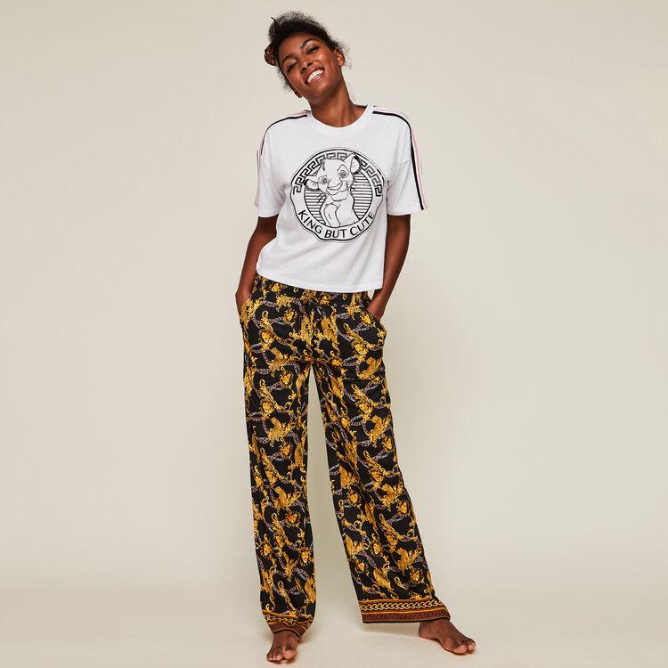 Bunversiz short-sleeved Lion King top;