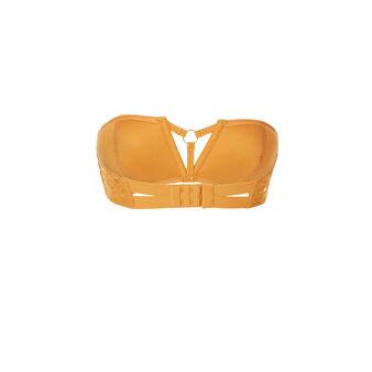 Bandeau-bh plumiz dentelliz senfgelb  yellow.