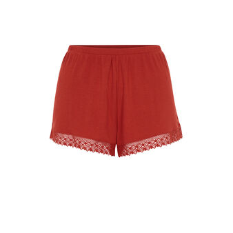 Newpompiz brick-red shorts red.