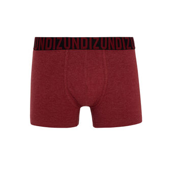 Oreliz burgundy boxer shorts red.
