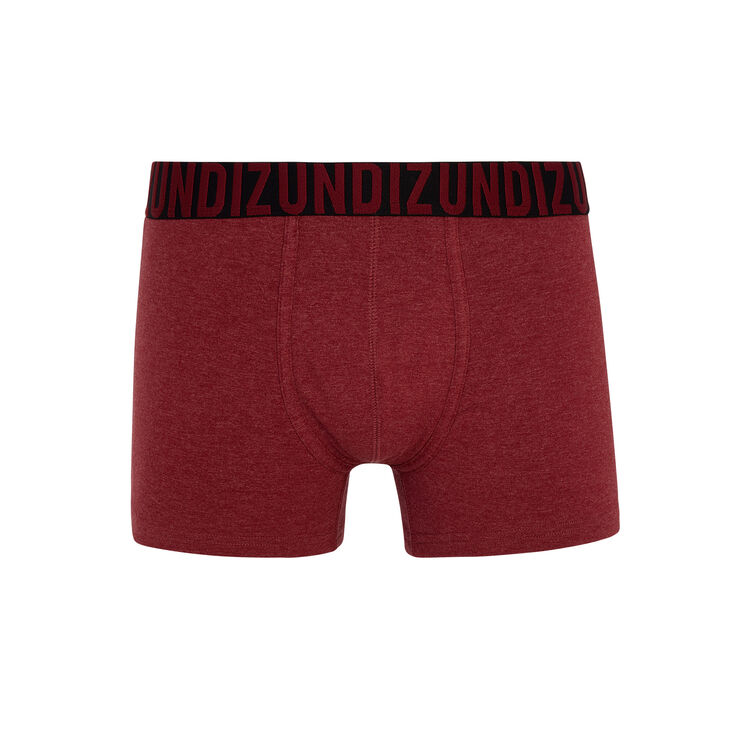 Oreliz burgundy boxer shorts;