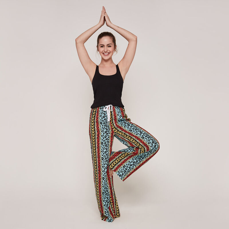 Chainiliz trousers with print;
