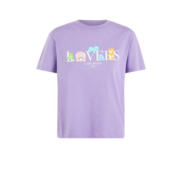 Bisloversiz Care Bears short-sleeved top;
