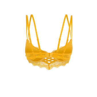 Sujetador corpiño push-up amarillo totoiz yellow.