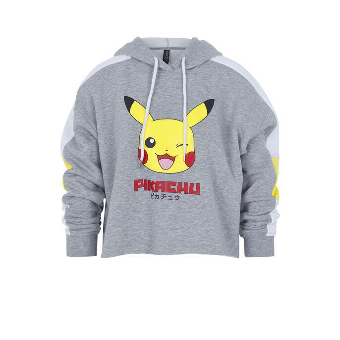 Pikachiz grey hoodie grey.