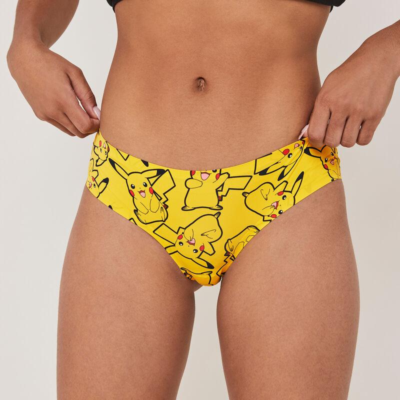 Szorty bezszwowe z nadrukiem Pikachu pikakikiz  ;