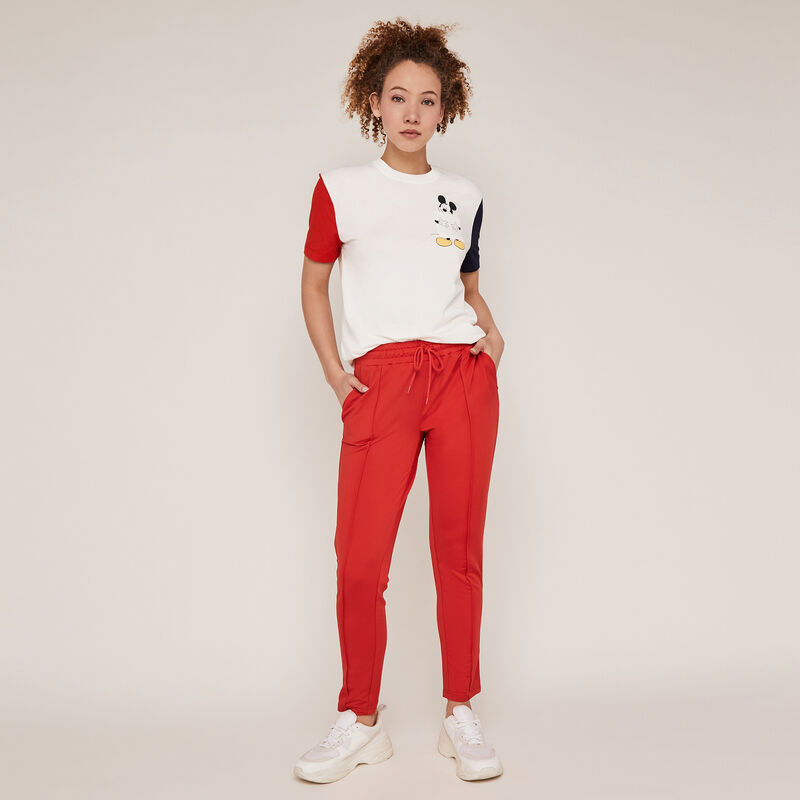 Jogging bottoms - red ;