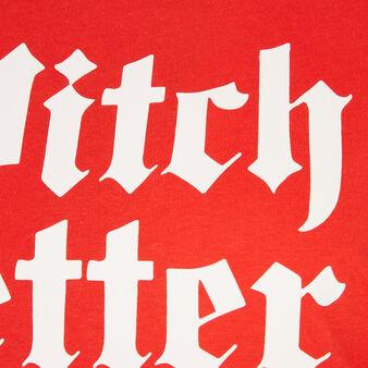 Betterwiz red tunic red.
