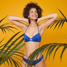 Gabiz blue bikini briefs blue.