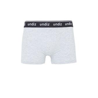 Bartagiz grey boxer shorts grey.