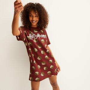 Harry Potter printed tunic - burgundy