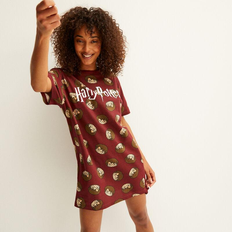 Harry Potter printed tunic - burgundy;