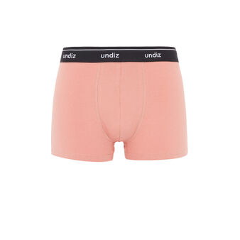 Girlfriendiz antique pink boxer brief pink.