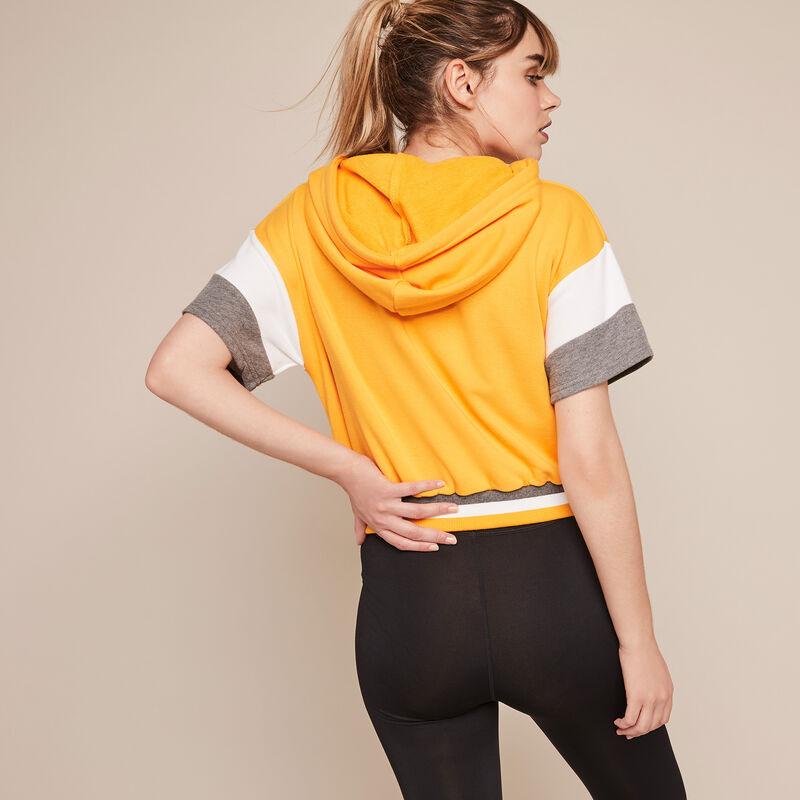 Basicsportiz sport sweatshirt with slogan ;