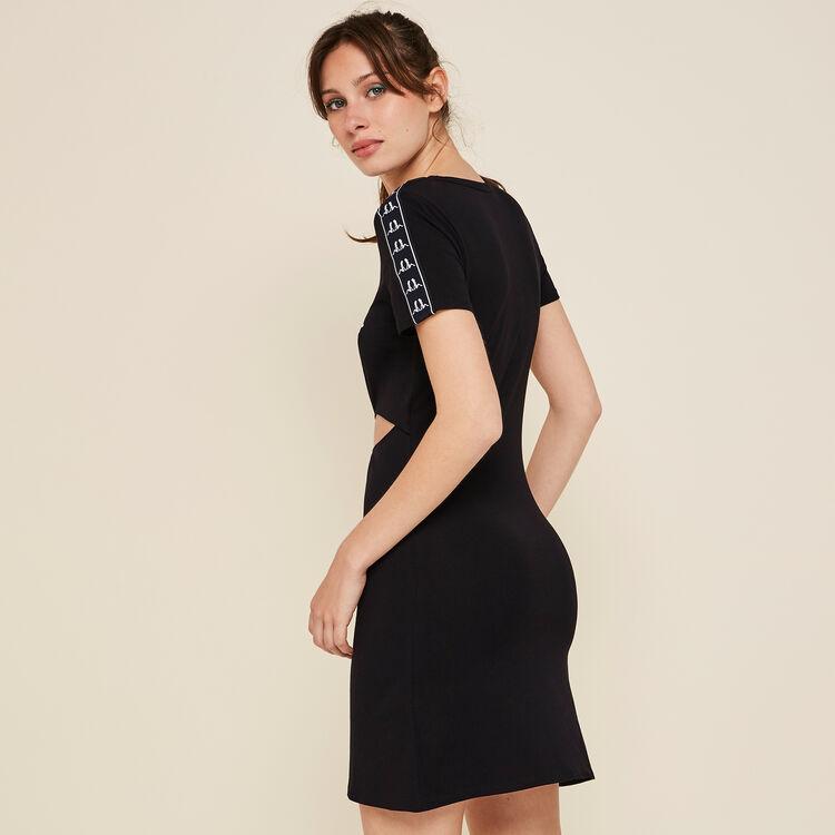 Czarna sukienka bellaiz;