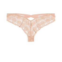 Culotte laceriz nude pink.