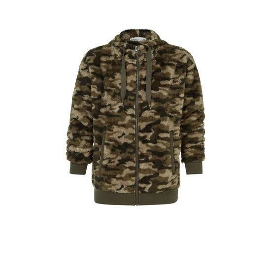 Khaki camoyopiz jacket;