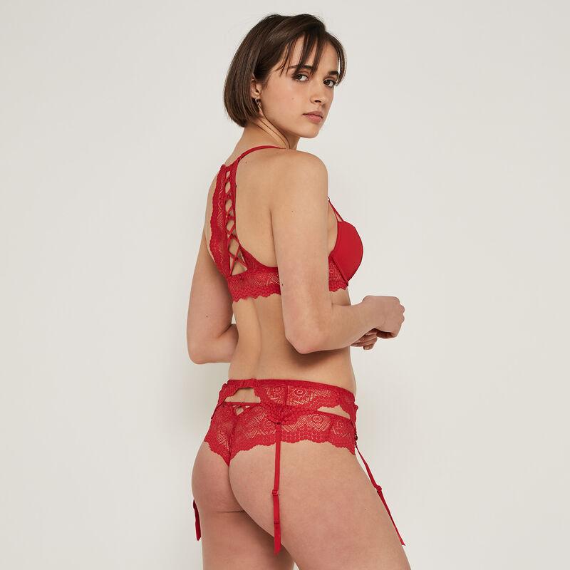 Cocktailiz push-up bra with back detail;