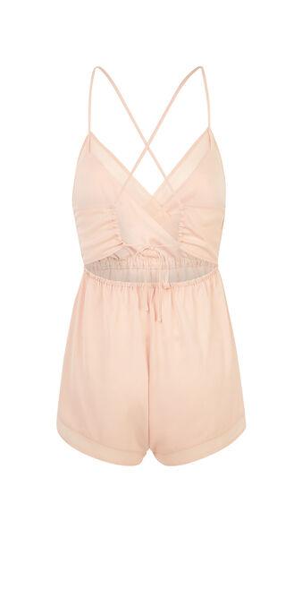 Backliz pale pink onesie pink.