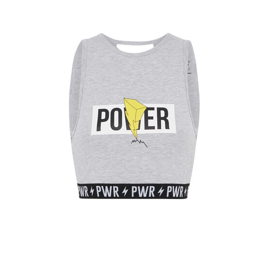 Powerniz grey top;