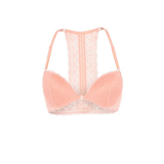 Fullaciz pink push-up bra;