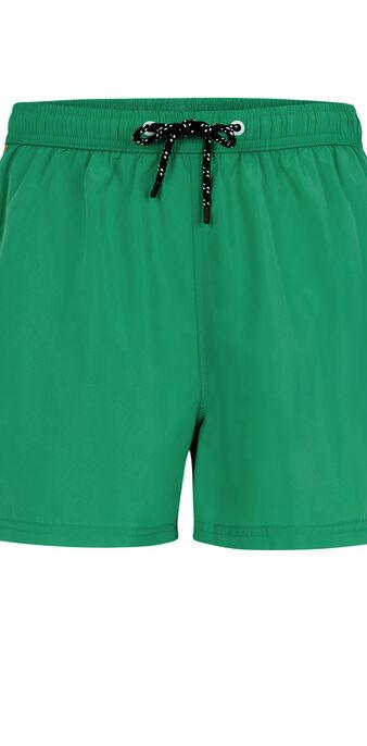 Szmaragdowozielone szorty kąpielowe sunrisiz green.
