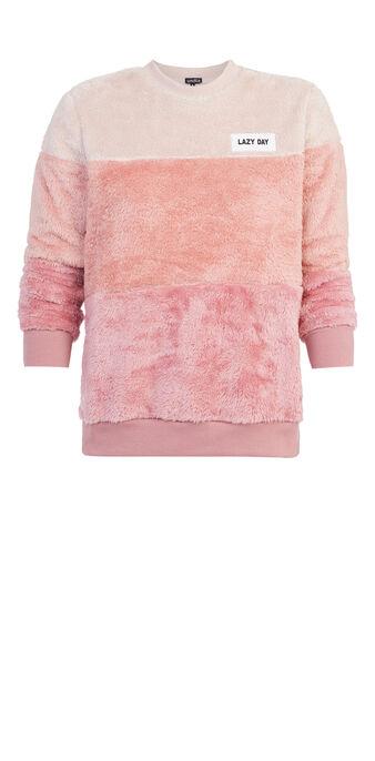 Lazydiz pink sweatshirt pink.