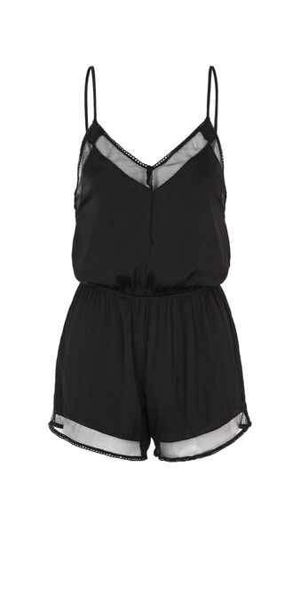 Black poupidiz playsuit black.