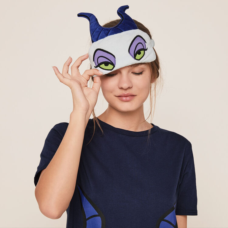 "Комплект туника + маска для сна ""Малефисента"";"