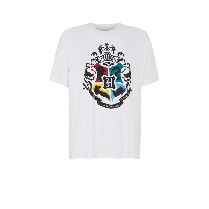 Harry Potter emblem top - white;