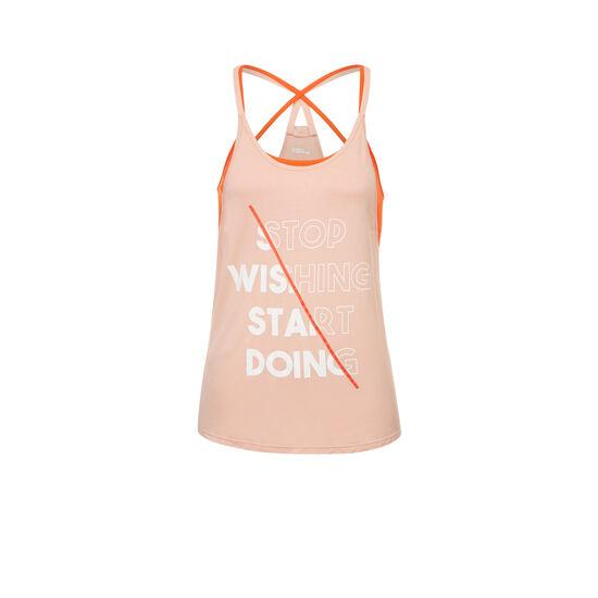 Braseamiz pale pink top;