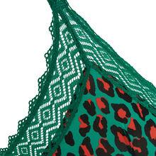 Hindiz emerald green triangle bra green.