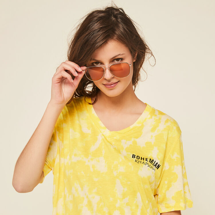 Желтое платье yellobohemiz;